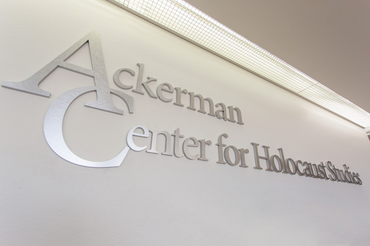 New Endowed Chair Puts Ackerman Center in Elite Seat for Holocaust Research Programs