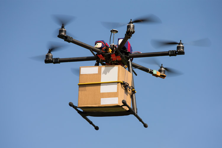 Researchers Explore How Retail Drone Delivery May Change Logistics Networks